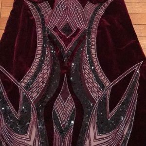 WOW couture Dresses - Velvet Dress